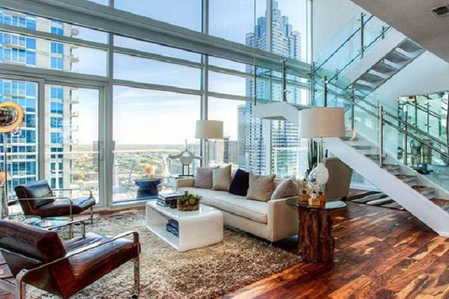 To choose a penthouse with views or to choose an affordable ground floor?
