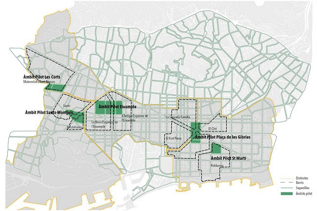 Barcelona plans to launch six new superblocks in 2018